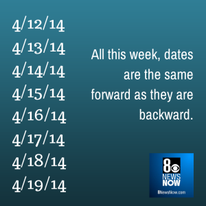 backwards week