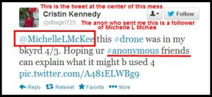 CK drone tweet