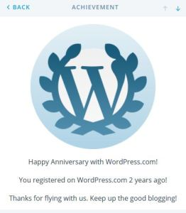 wp 2 year anniv