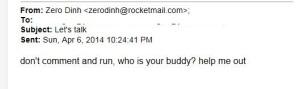zw email to hmmmm