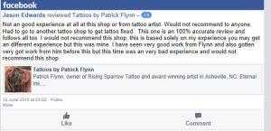 je complain about tattoo shop