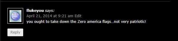 fluke flag