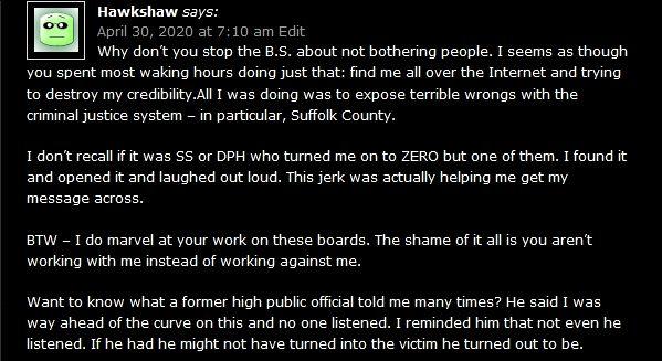 hawkshaw zw 3rd comment